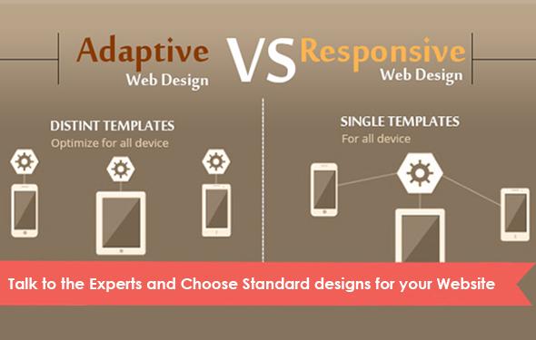 Adaptive Web Design vs Responsive Web Design