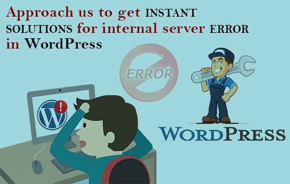Approach us to get instant solutions for internal server error