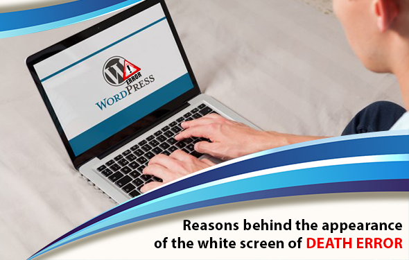Reasons behind the appearance of the white screen of death error