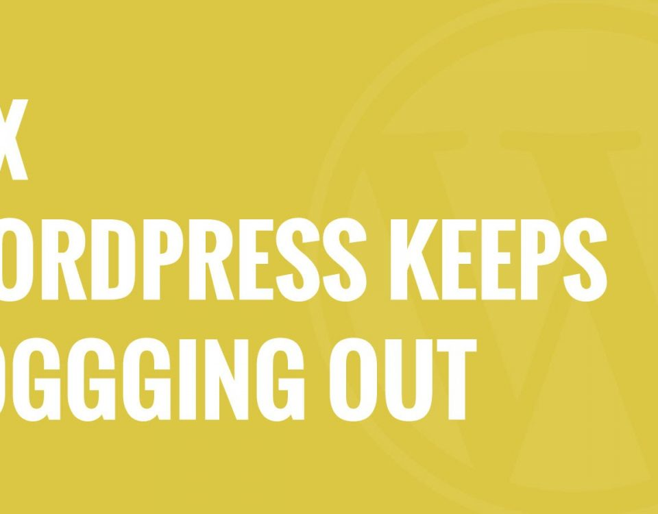 WordPress keeps logging out problem