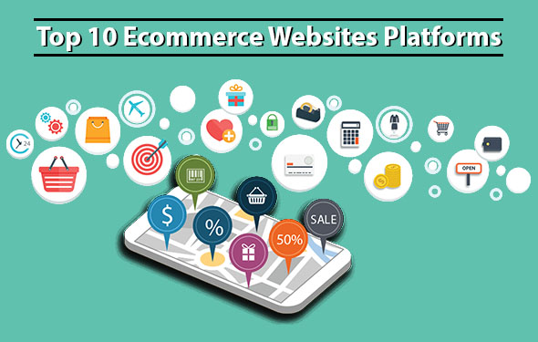 Top 10 Ecommerce Websites Platforms