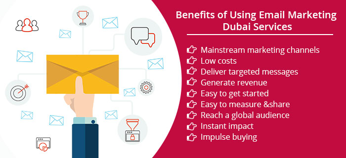 Benefits of Using Email Marketing Dubai Services
