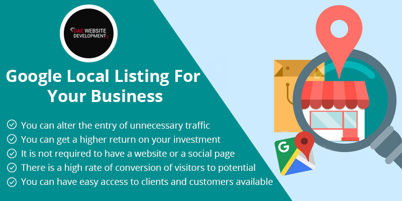 Google Local listing for your Business