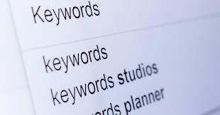 best types of keywords