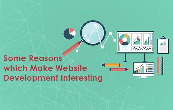 Some Reasons which Make Website Development Interesting
