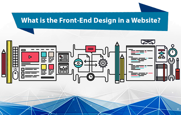 What is the Front-End Design in a Website