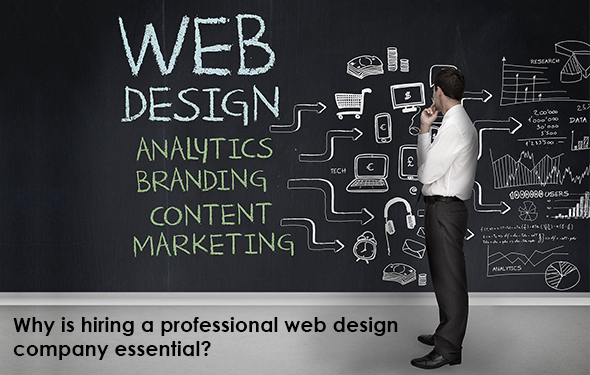 Why is hiring a professional web design company essential