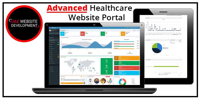 advanced healthcare website portal