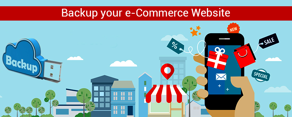 Backup your e-Commerce Website