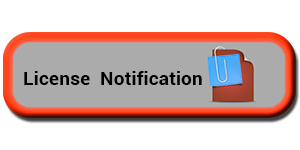 License Notification