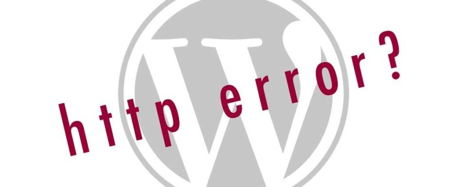 Wordpress http Error