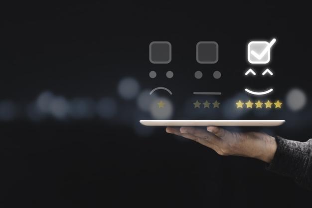 Feedback application for tablet